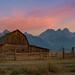 Mormon Row Sunrise panorama by Michael Ver Sprill