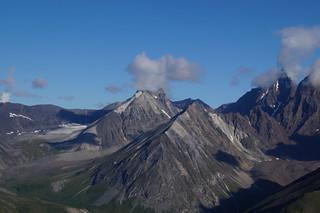 038 Wrangell St Elias NP vanuit de lucht