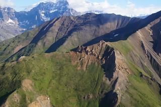 034 Wrangell St Elias NP vanuit de lucht