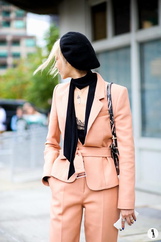 Soo Joo at New York Fashion Week