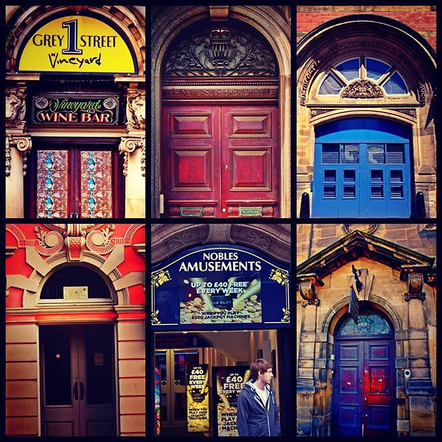 Newcastle's extraordinary doors