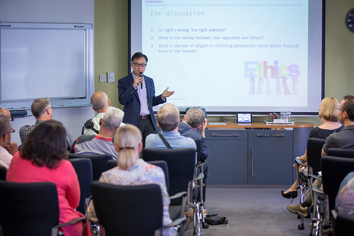 David Wong discusses ethics at Linklaters