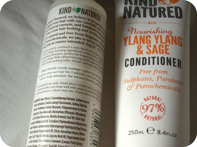 Kind Natured Hair Products