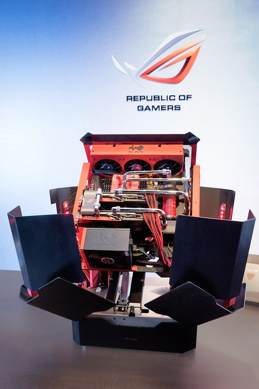 In Win ra mắt thùng máy phiên bản giới hạn H-Tower đạt chứng chỉ ROG Certified - 97869
