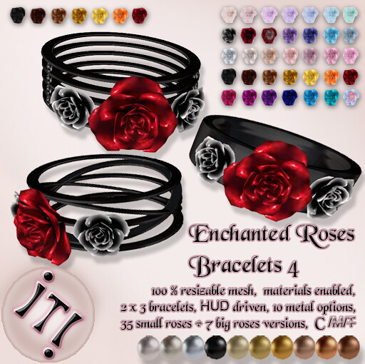 !IT! - Enchanted Roses Bracelets 4 Image