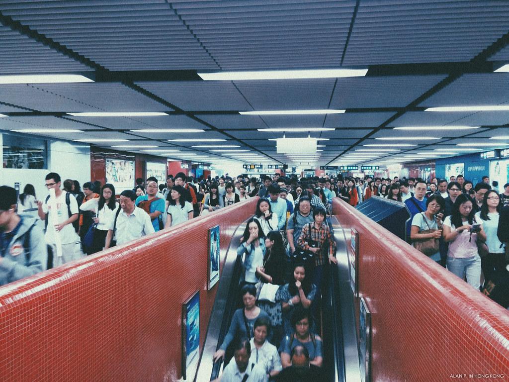 The subway city life