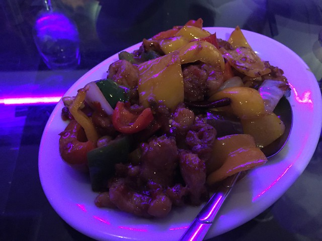Kung pao chicken - Wang's in the Desert
