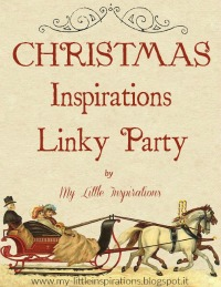 My Little Inspirations - Christmas Inspirations Linky Party 2017