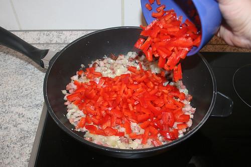 19 - Paprika hinzufügen / Add bell pepper
