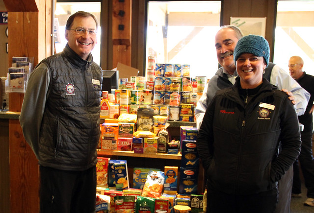 For food bank at Bretton Woods