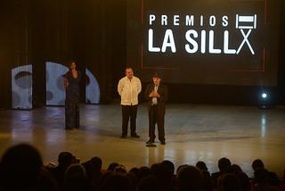Reconocimiento a Angel H. Premios La Silla.