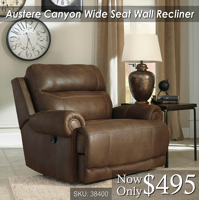 Austere Canyon Wide Recliner