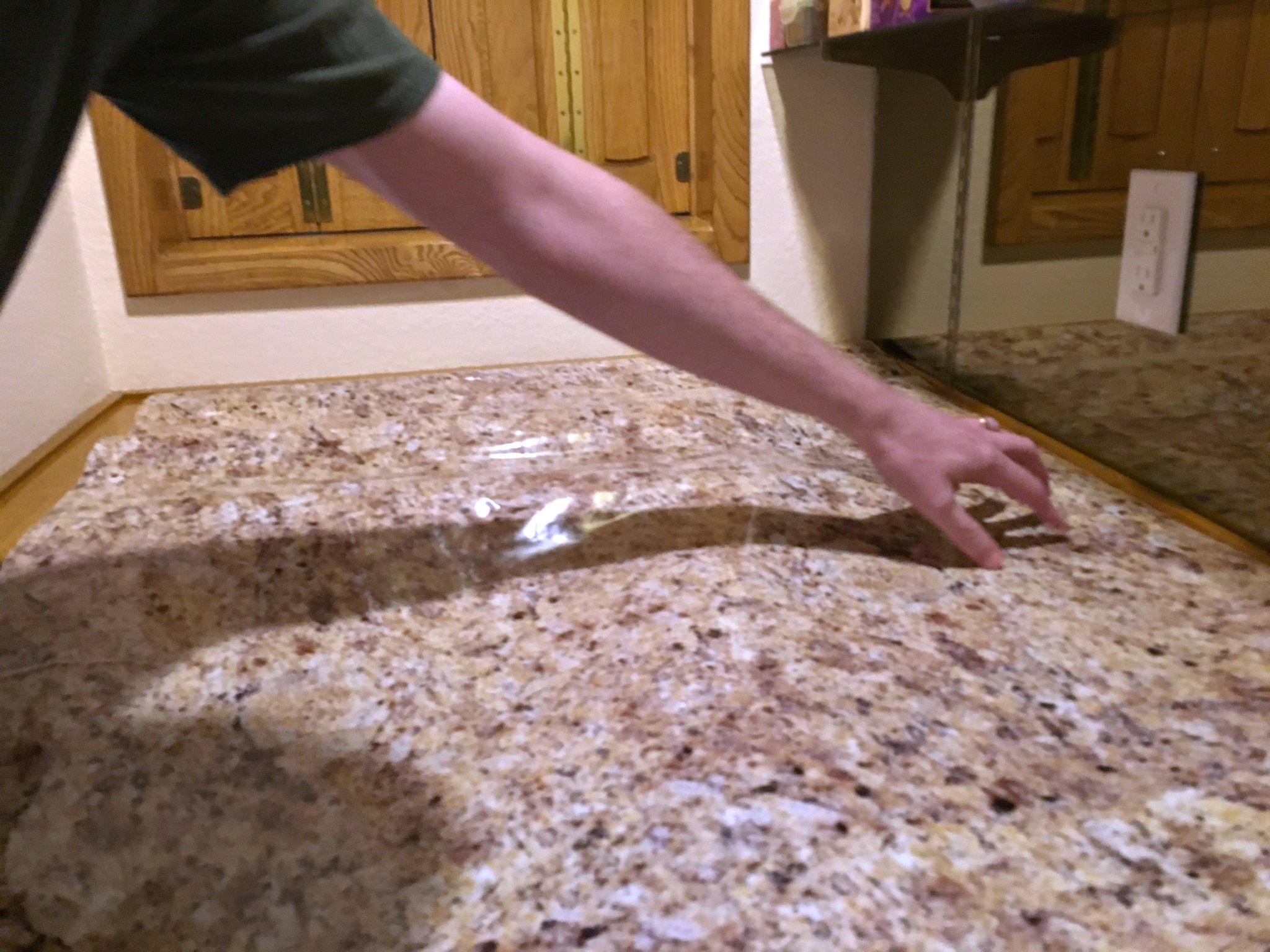transform your countertops with a diy fake granite counter t