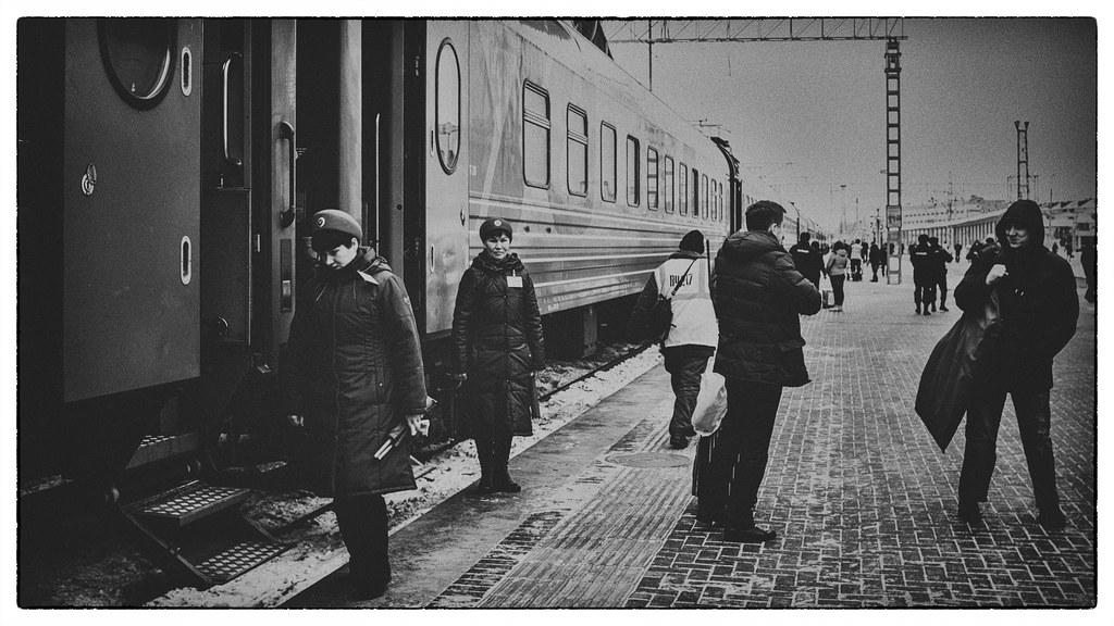 Trans Siberian Railway | Kazan Railway Station