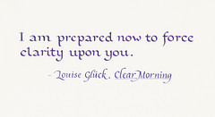 Quotation - Louise Gluck