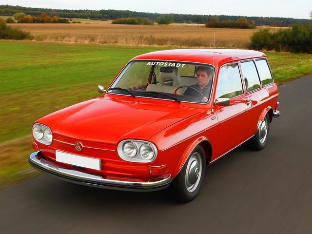 Универсал Volkswagen 411 Variant (Typ 4). 1968 – 1972 годы