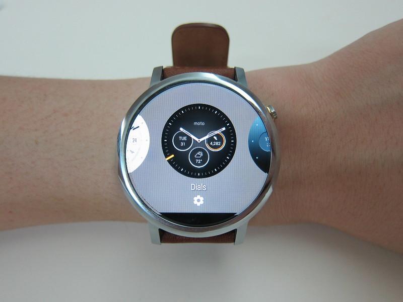 Moto 360 (2nd Gen) - Watch Faces