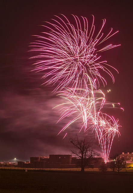 New Years Eve 2015 - Beaumaris Castle