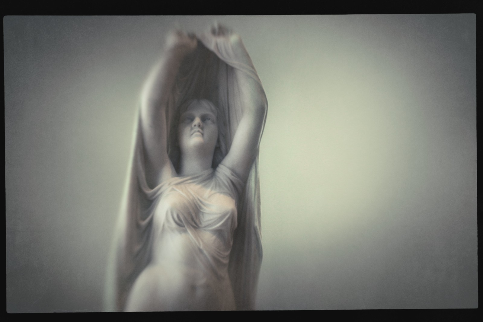 "Portrait of Chauncey Bradley Ives' ""Undine Rising from the Waters"". 1859. Marble. High Museum of Art. September 2015."