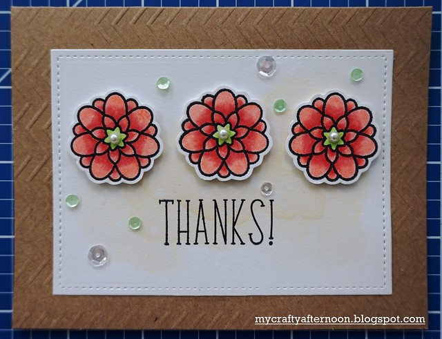 Thank You Card Series Floral