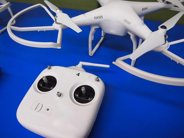 Mando de un dron
