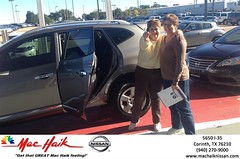 #HappyBirthday Sheree from Everyone at Mac Haik Nissan Corinth!
