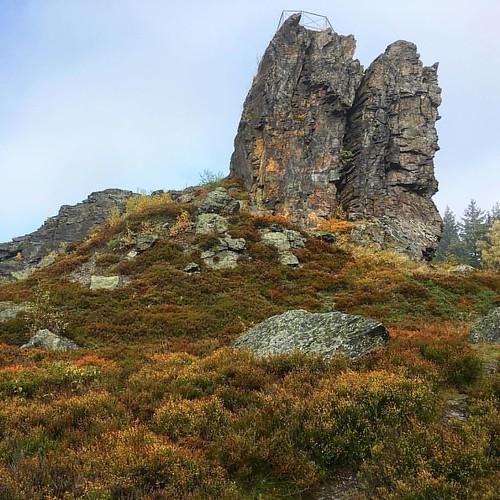 Auf unserer 10 km Tour… DE ‹‹ ›› CZ rund um Erlbach - vorbei am 'Hoher Stein'   #Hiking #Outdoor #Trekking #Garmin #Oregon750t #fēnix3 #BeatYesterday #running66