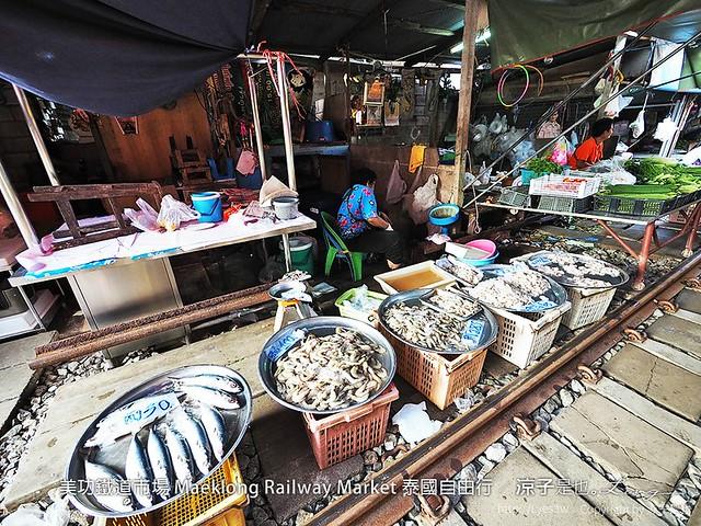 美功鐵道市場 Maeklong Railway Market 泰國自由行 48