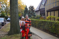 The Four Of Us On Halloween