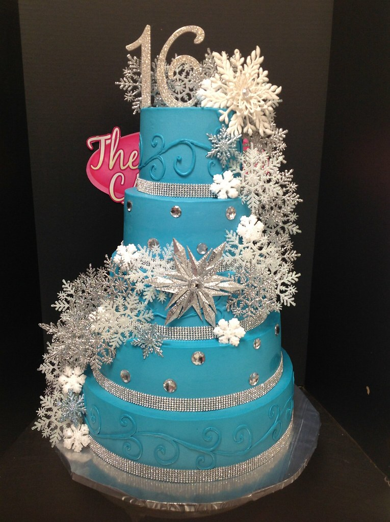 Light Teal Cakes