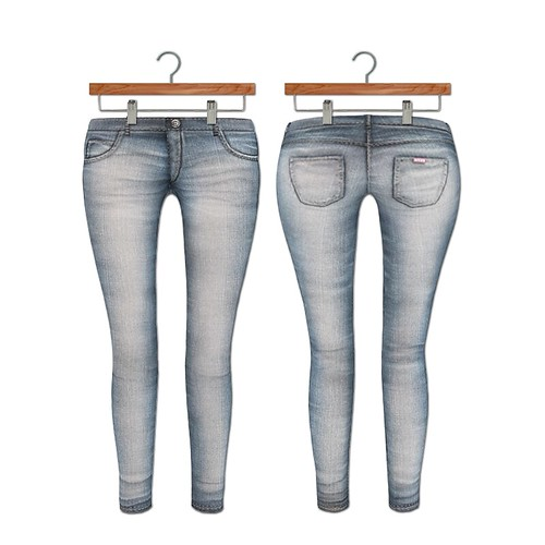 {MYNX} Skinny Jean - Light Wash