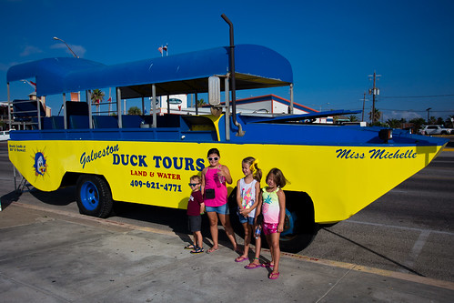 Galveston Duck Tour