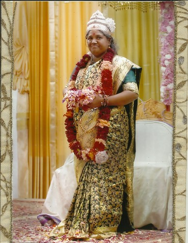 Amma (Sri Sri Mata Amritanandamayi Devi) in Devi Bhava