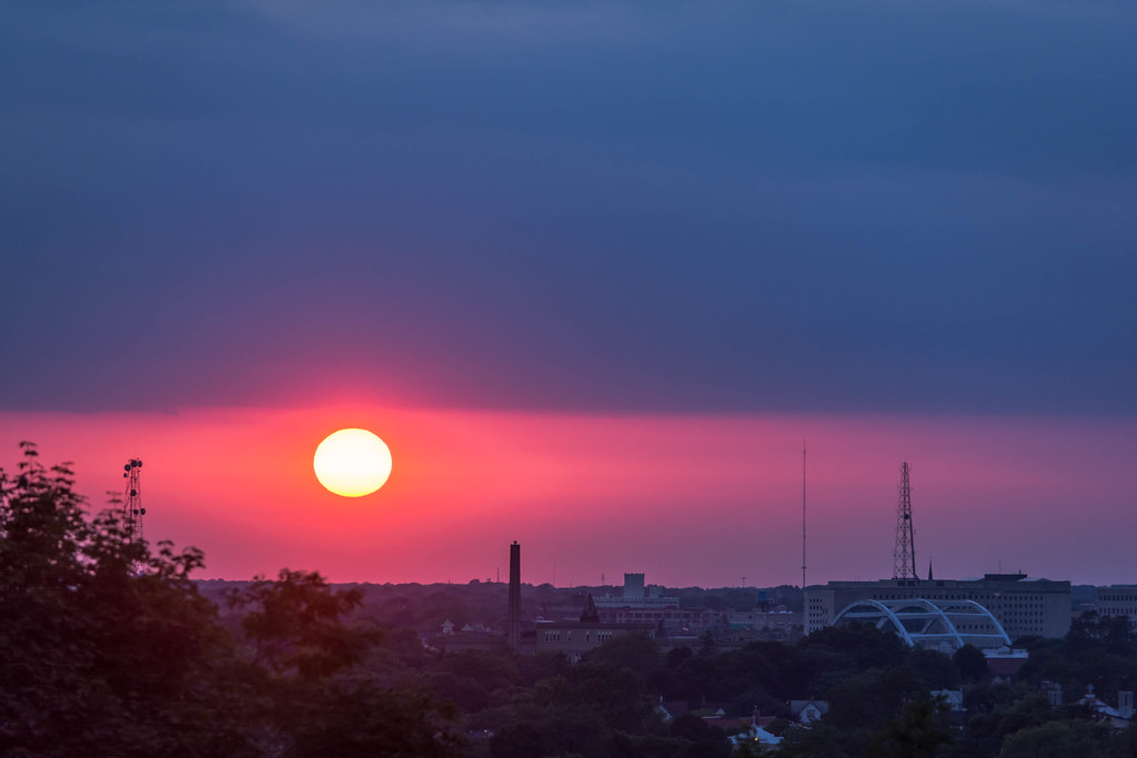 Cobbs Hill Sunset (Explored on Aug 15, 2015)
