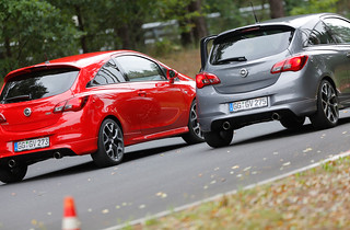 Filmproduktion zum neuen Opel Corsa OPC