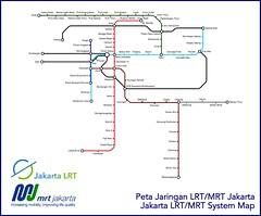 Jakarta Lrt System Map Adriansyah Yasin Flickr