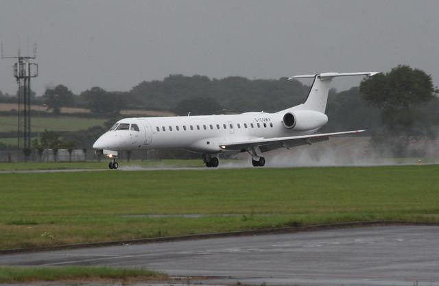G-CGWV landing