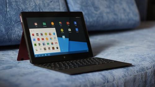 Jide Remix   nešiojamas kompiuteris su Android