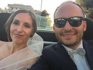 Casamassima- I due casamassimesi sposi
