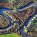 River Abens by Aerial Photography