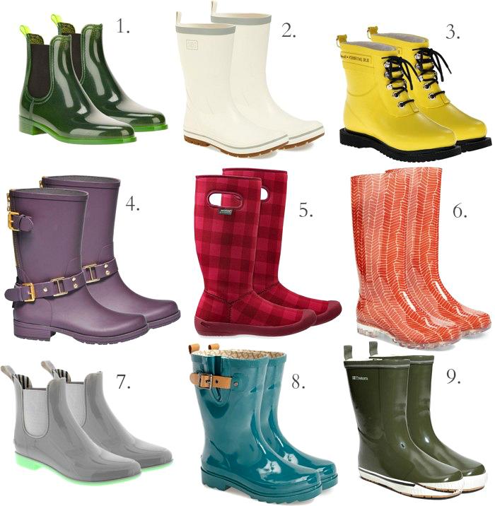 HEY, RAIN BOOTS! :: | Olya Garkusha — A Diary of Inspiration