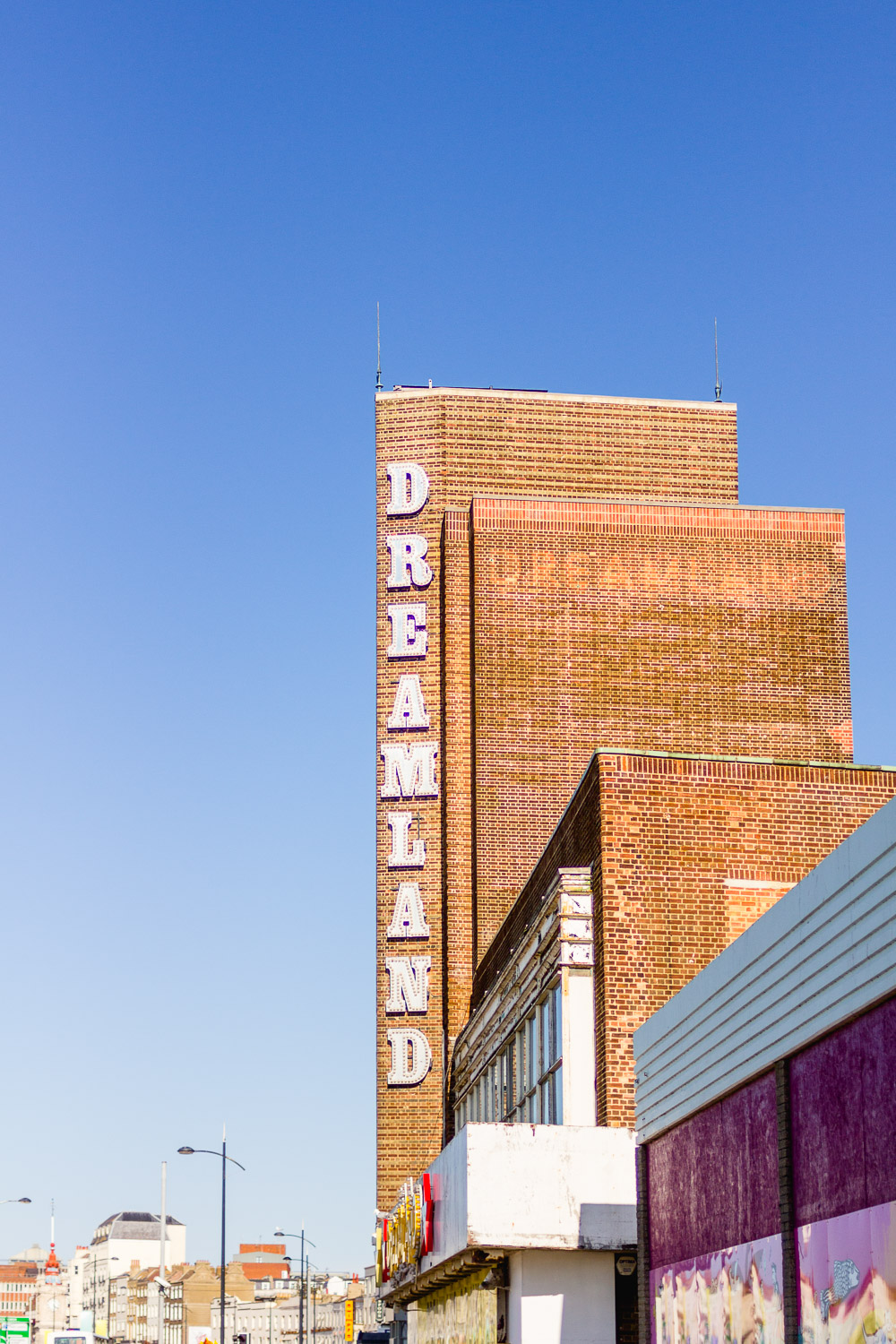 margate dreamland sign sixties