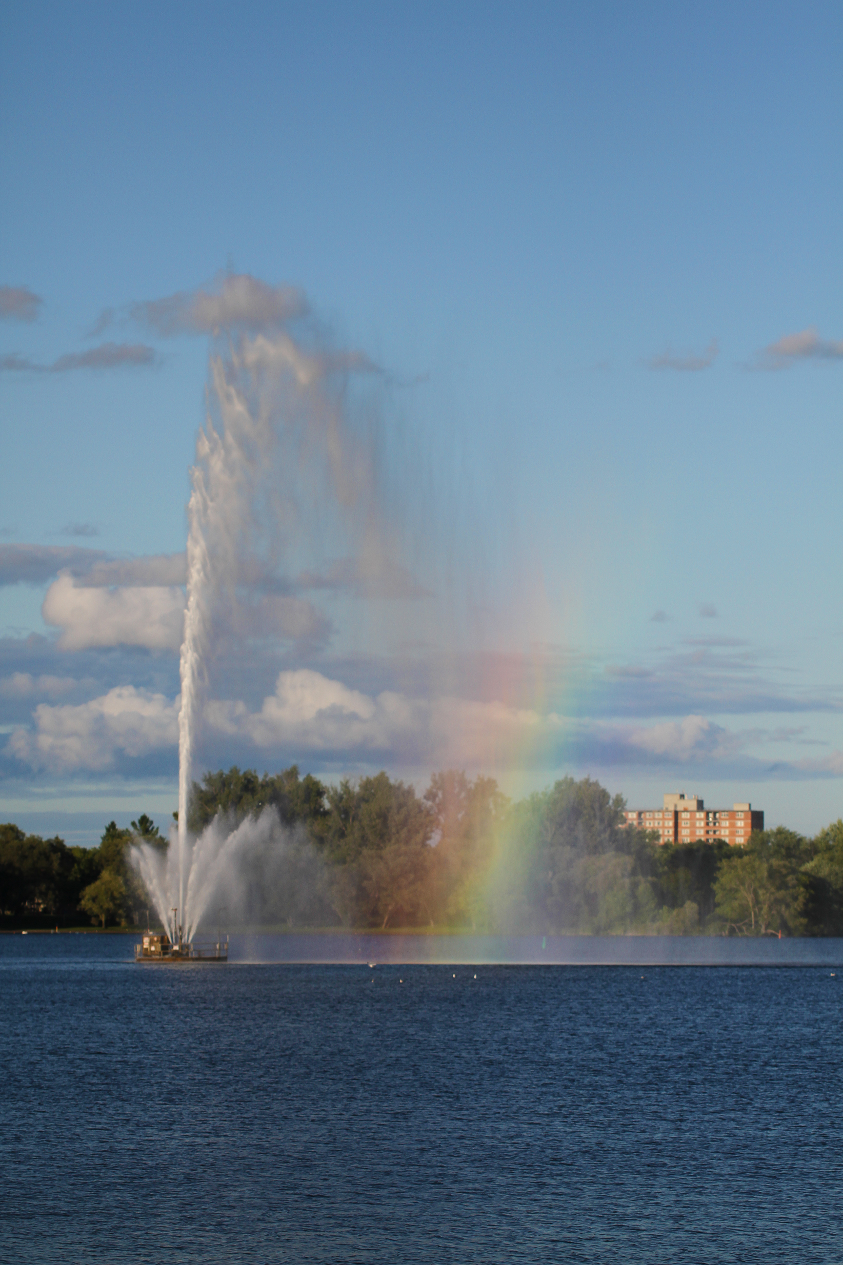 Centennial Fountain Rainbow4