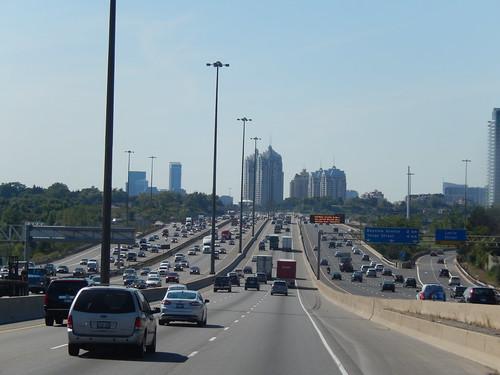 Higway 401 naar Toronto