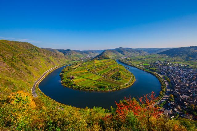 Moselschleife Bremm, Rheinland-Pfalz, Germany