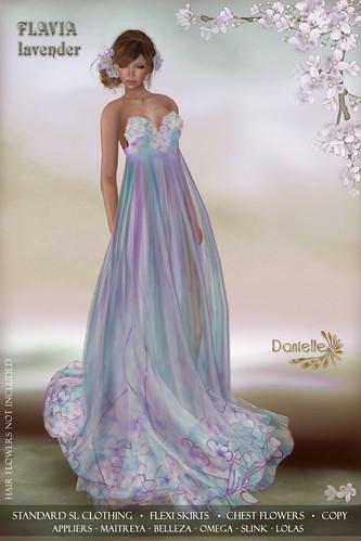 DANIELLE Flavia Lavender