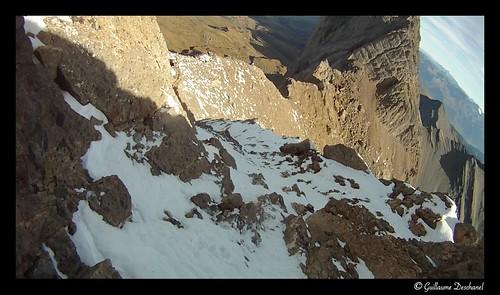 Dans la Voie normale de lAiguille Centrale (3513 m)
