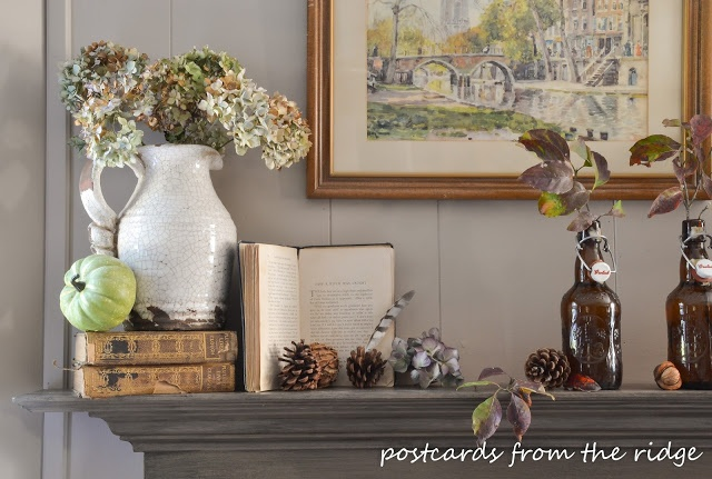 Fall Mantel Ideas (2)