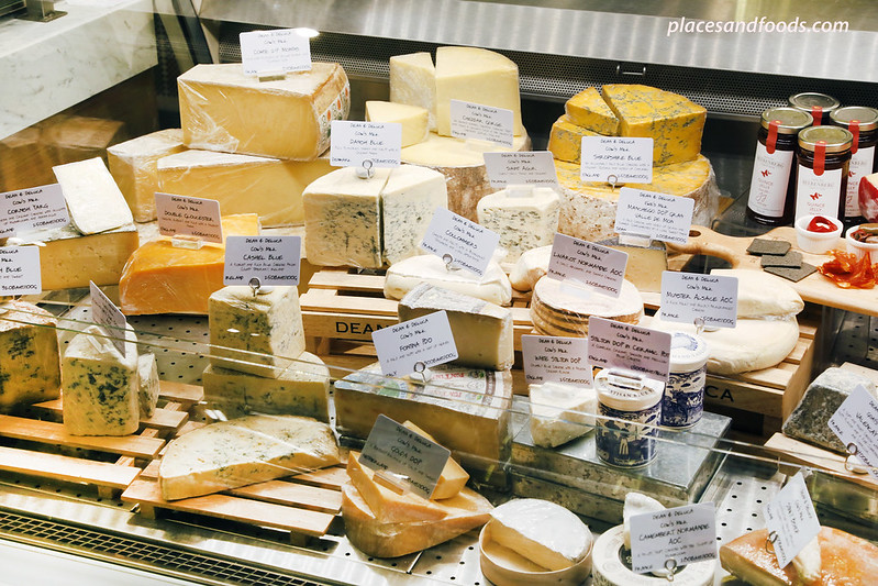 dean and deluca MahaNakhon bangkok cheese selection