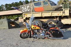 Motorcycle Harley Davidson 1994 Heritage Softail Army Surplus Jade 20151008_7692